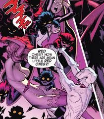 idk HOW or WHY, but somehow, ICEMAN & FiRESTAR; fight a plight of lil BAMFS!!