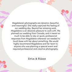 Getting positive feedback and great reviews from my clients is priceless. . Magdalene x . #testimonial #weddingcouple #destinationwedding #elopementphotographer Positive Feedback, Our Wedding Day, Wedding Couples, Instagram Feed, No Response, Destination Wedding, How To Plan, Feelings, Destination Weddings
