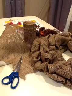 Burlap Wreath tutorial..better tutorial than the other one I pinned