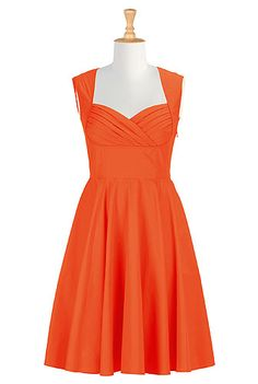 Havana dress in Burnt Orange (Why must it be out of stock when I want it?! Also wondering if they will have this available in Loden Green.)