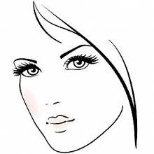 Image result for black and white illustration faces
