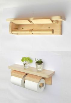 Handicraft stand, toilet paper fastener Toilet Roll Holder Shelf, Loo Roll Holders, Woodworking Projects Diy, Wood Projects, Projects To Try, Furniture Repair, Wood Tools, Diy Storage, Home Organization
