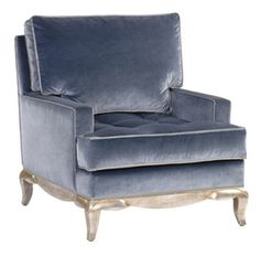 Delmonaco Lounge  Transitional, Upholstery  Fabric, Wood, Armchair by Nancy…