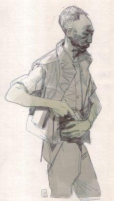 Police - Faraz Shanyar ✤ || CHARACTER DESIGN REFERENCES | キャラクターデザイン |  • Find more at https://www.facebook.com/CharacterDesignReferences  http://www.pinterest.com/characterdesigh and learn how to draw: concept art, bandes dessinées, dessin animé, çizgi film #animation #banda #desenhada #toons #manga #BD #historieta #strip #settei #fumetti #anime #cartoni #animati #comics #cartoon from the art of Disney, Pixar, Studio Ghibli and more || ✤