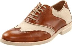 Amazon.com: Johnston & Murphy Men's Dolby Wing Tip Saddle Oxford: Shoes. D ()  (8.5) 135.