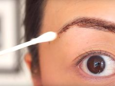 How to naturally dye your eyebrows with coffee, coco, coconut oil, and honey.