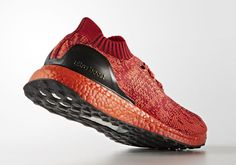 45219ab954bd  sneakers  news adidas Ultra Boost Uncaged Releasing With Red And Black  Boost Soles New