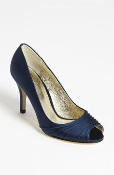 Adrianna Papell 'Farrel' Pump available at #Nordstrom. Jen: plain, but could add embellishments via shoe clip thingies (saw some online and on etsy)