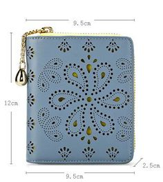 women's paisley leather bag wallet clutch - The Pocket Mall