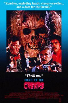 Night of the Creeps (1986) http://www.imdb.com/title/tt0091630/
