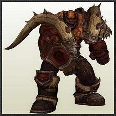 World of Warcraft - Garrosh Hellscream Free Papercraft Download - http://www.papercraftsquare.com/world-warcraft-garrosh-hellscream-free-papercraft-download.html