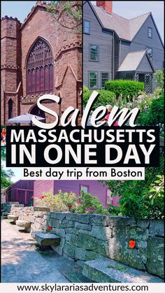 Travel tips on how to spend the day in Salem Massachusetts. Best Picture For US Destinations East Coast Travel, East Coast Road Trip, Road Trip Usa, Boston Vacation, Boston Travel, Tennessee Vacation, New England Fall, New England Travel, Day Trips From Boston