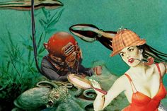 """Of all of the movies that I didn't get to see that summer, """"Jane Russell, Underwater Investigator"""" was at the top of my list. Jane Russell, Short Stories, 21st Century, Underwater, Novels, War, Summer, Painting, Summer Recipes"""