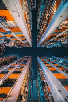 Vertical Housing, Causeway Bay, Hong Kong