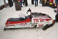 Vintage Sled, Vintage Racing, Snow Vehicles, Snow Machine, Snow Fun, Lake George, Winter Fun, Yamaha, Planes