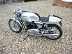 """'72 Norton 750 Commando  Snortin' Norton. A truly fine motorcycle .. This bay has """"legs""""!"""