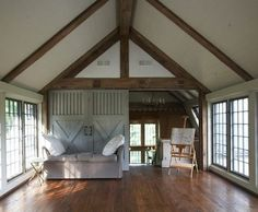 Yoga Studio - traditional - home gym - birmingham - Tracery Interiors