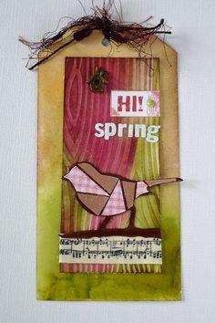 tag bird spring