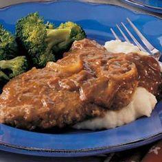 Cubed Steaks with GravyFood Friendzee   Food Friendzee