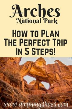 You're about to have so much fun in Arches National Park!  Planning an itinerary for your road trip or family vacation can be a challenge though, that's why I'm sharing these 5 Steps to Planning the Perfect Trip to Arches!  Whether you'll be hiking with kids, camping with families, or are on a photography adventure we'll hit your bucket lists hard! I'll be your travel guide so you'll know what things to do, and which hikes will take you to the most beautiful places!#arches#travel#utah Beautiful Places In America, Beautiful Places To Visit, Cool Places To Visit, Amazing Places, Arches Np, Canyonlands National Park, Hiking With Kids, Hiking Tips, Best Hikes