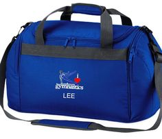 a8188a792f Buy this personalised boys gymnastics bag holdall embroidered to order with  the I Love Gymnastics Logo