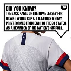 """f51409493 UNISWAG on Instagram: """"DID YOU KNOW? @uswnt with all 50 states on their  backs. #uniswag"""""""