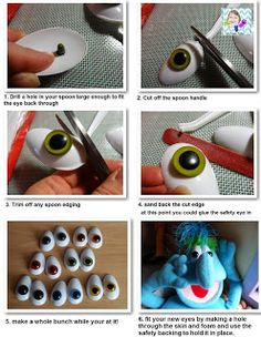 VR Puppet Builds: still on the topic of eyes....... spoons? read more on my blog post and watch the video!