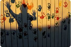 I love the fence idea. Have the kids or grandkids help with their hands. The wonderful memories every time you look at it.