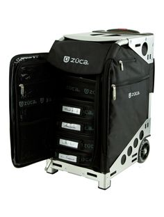 Pro Artist Black/Silver Zuca bag. Awesome gift for meeeeee! I want!!