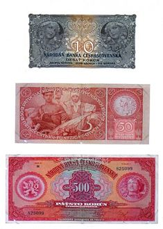 Alphonse Mucha - Banknotes of Czechoslovakia, designed by Mucha: 500 crown; Alphonse Mucha Art, Paul Gauguin, Book Format, Japanese Prints, Print Pictures, Famous Artists, Art Lessons, Coloring Books, Art Decor