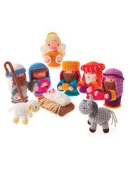 Amigurumi Nativity Set : 1000+ images about Crochet nativity and angels on ...
