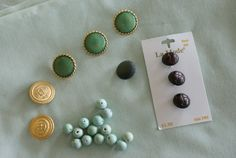 the fabric and buttons/beads I want to use (not all of them obviously...)