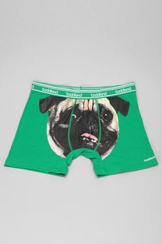 Pug Face Boxer Brief-getting these for zack ;) Position of the mouth is in an odd spot!