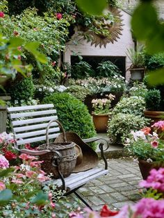 My vision of my back yard.  Garden Spaces by olive