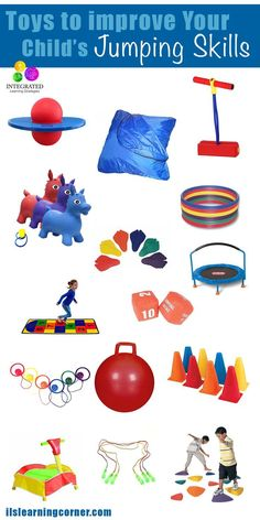Jumping Toys: Toys to Help Your Child Learn how to Jump Movement Activities, Gross Motor Activities, Gross Motor Skills, Sensory Activities, Infant Activities, Learning Activities, Activities For Kids, Autism Sensory, Baby Sensory