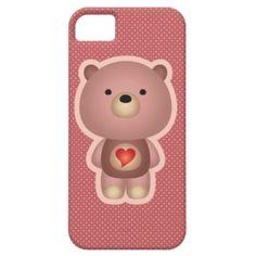 Cute Bear iPhone 5 Cover $42.30
