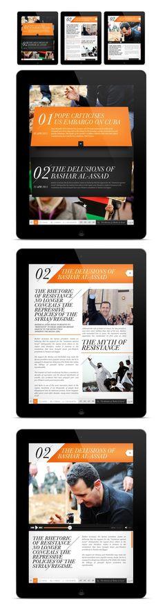 iPad mag design.