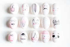 8 Dreamy ways to decorate Easter eggs - Daily Dream Decor eggs designs Happy Easter, Easter Bunny, Easter Eggs, Easter Egg Designs, Easter Table Settings, Easter Celebration, Egg Art, Egg Decorating, Easter Treats