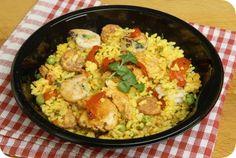 Spaanse Paella | Gezonde slanke recepten | Flinndal