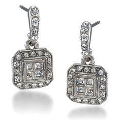 Carolee Lux Hallie Deco Pierced Earring – Bijoux Closet