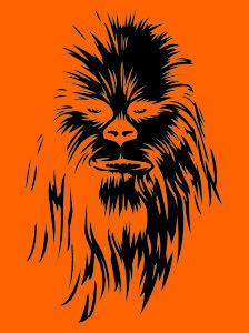 CLA_LIC_5756_L Chewbacca pumpkin