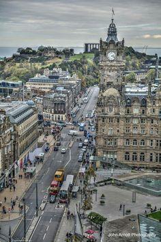 Edinburgh, Scotland, my Father came from Scotland to British Columbia.