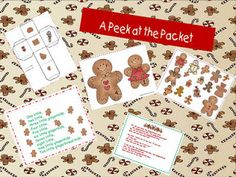 ABC and 123: Gingerbread Lessons and Activities