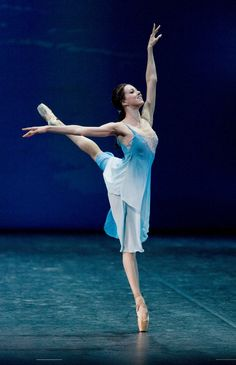 Irina Perren performing Spring Waters at Dance Open 2011. Photo by Stas Levshin