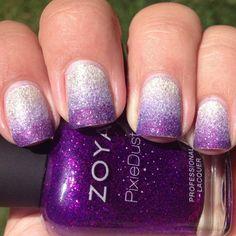 Zoya Pixie Dust Gradient | Polish Me Please!