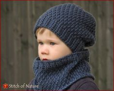 This Crochet PATTERN - The Portland Slouchy Hat and Cowl Set Pattern (Baby to Adult sizes - Boys, Girls) - id: 16062 is just one of the custom, handmade pieces you'll find in our patterns & how to shops.Items similar to ELLA baby summer hat crochet p Crochet Slouchy Beanie, Crochet Hooded Scarf, Crochet Beanie Pattern, Easy Crochet Patterns, Crochet Scarves, Baby Patterns, Knitted Hats, Knitting Patterns, Hooded Cowl
