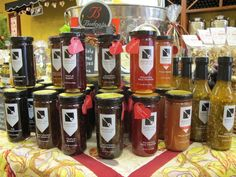 Delicious Emily G's Jams of Love now available at Patricia & Paul