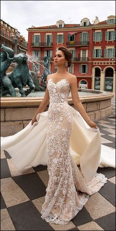 fc10eb9abd60 4137 Best Strapless Wedding Dress Inspiration images in 2019 ...