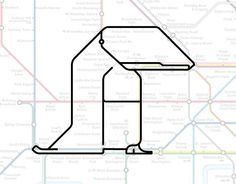 Tooting Bec the Toucan.   22 Animals Who've Been Hiding Out In The London Underground Map #mapgeek @BadgerMaps