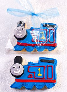 Thomas The Train Cookie Favors Small